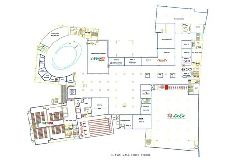 layout shopping mall ruwais shopping mall update shops layout