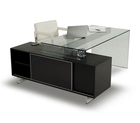 Office Desks Black Dreamfurniture Alaska Black Oak Office Desk