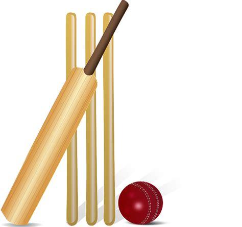 cricket free cricket and bat and wicket www pixshark