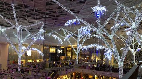 christmas lights westfield shopping centre london 2014