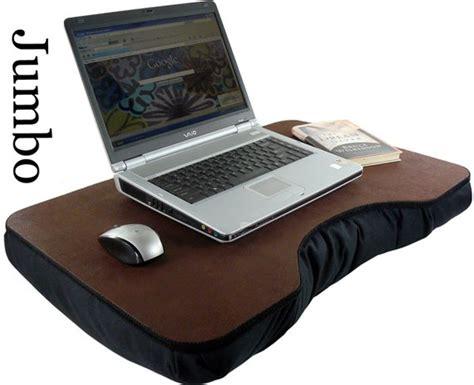 jumbo faux leather lap desk 1 gadget fever