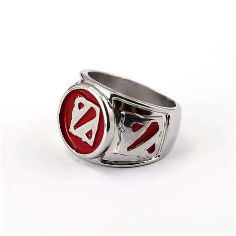 Gelang Dota 2 Silver dota 2 ring silver 7 style rinestone rings of aquila jewelry friendship