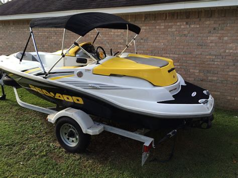sea doo boat 215 hp sea doo sportster 4tec supercharged 215hp 2006 for sale