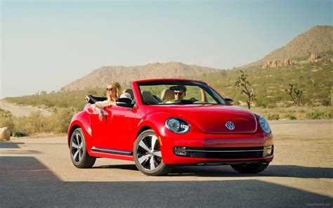 Volkswagen Beetle 2013 by Volkswagen Beetle Convertible 2013 Widescreen Car