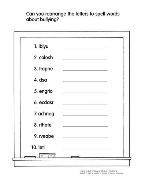 printable word search on bullying bullying word search printable worksheets for all