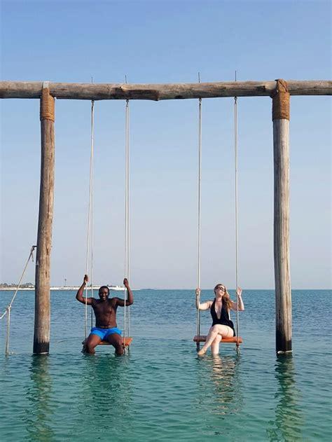 ocean swing a day trip to the paradise of zaya nurai island abu dhabi