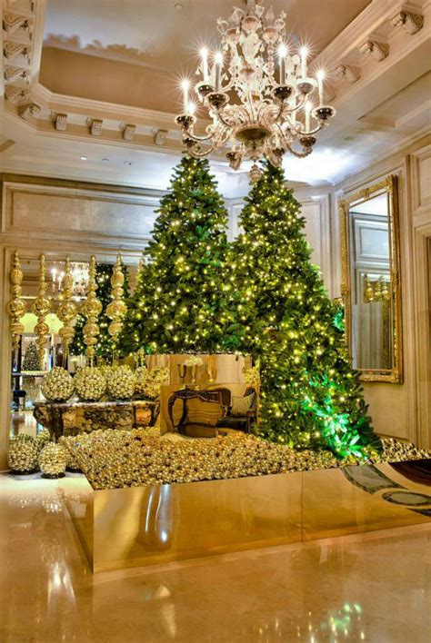 luxury homes decorated for christmas luxurious christmas trees ideas interior design giants