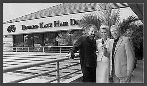 edward katz hair design cost meet best hair replacement system founder edward katz