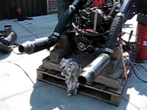 Indmar Gm V8 Engine Running On Land Youtube