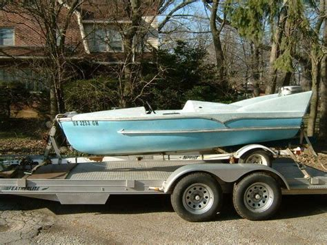 old fiberglass boats old finned boats anyone interested in fifty s fiberglass