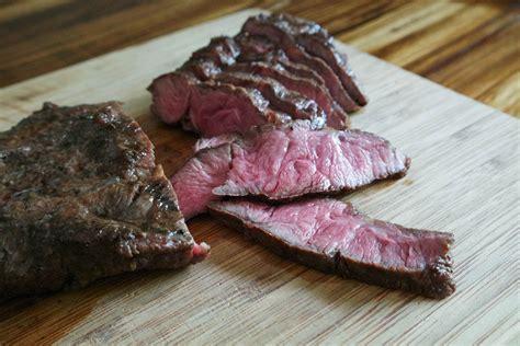 flat iron steak with italian salsa verde jess pryles