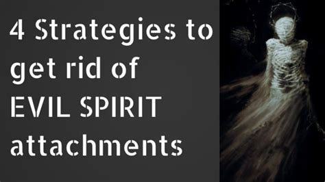 how to get rid of spirits