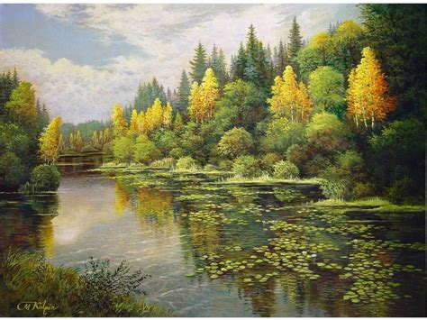 imagenes figurativas naturalistas hermosas pinturas de paisajes obras de arte im 225 genes