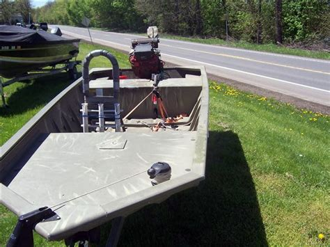 used jon boats for sale pa 2007 used tracker grizzly 1448 l all welded jon boat for