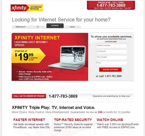 comcast home internet plans image gallery xfinity internet