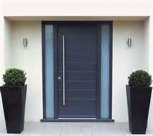 Contemporary Exterior Doors The Art Of Decorating A Front Entrance