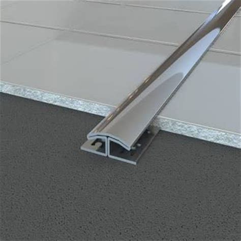 brushed steel floor l stainless steel metal floor trim edges brushed