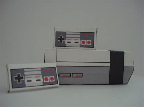 Nes Papercraft - nes papercraft by elitekiller69 on deviantart