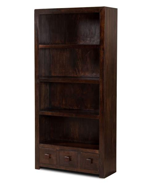 Brooklyn Bookcase by Dakota Dark Mango Tall Bookcase