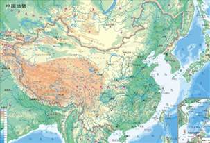 geography map of map of china geography area china map cities tourist