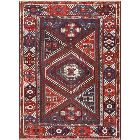 Turkish Tribal Rugs by Tribal Turkish Bergama Rug For Sale At 1stdibs