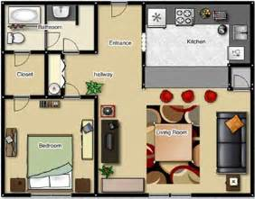 1 Bedroom Apartment Layout 287 Best Images About Small Space Floor Plans On Pinterest