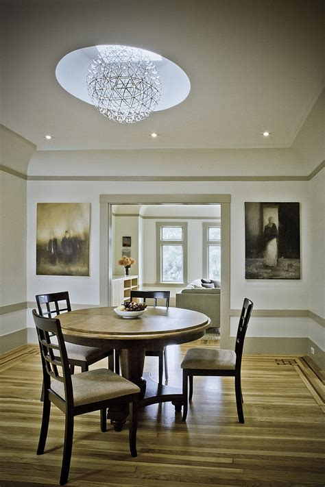 Kitchen Nook Table Ideas 27 Dining Rooms With Skylights That Steal The Show