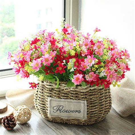 floreros y flores artificiales aliexpress comprar floace alta calidad cesta de