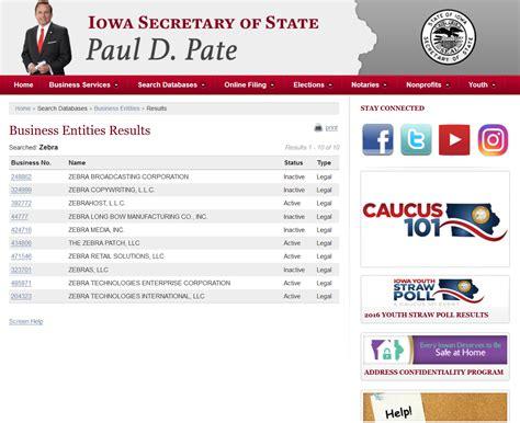 Free Records Iowa Free Iowa Articles Of Incorporation Templates Ia