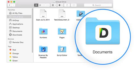 Icloud Document Storage