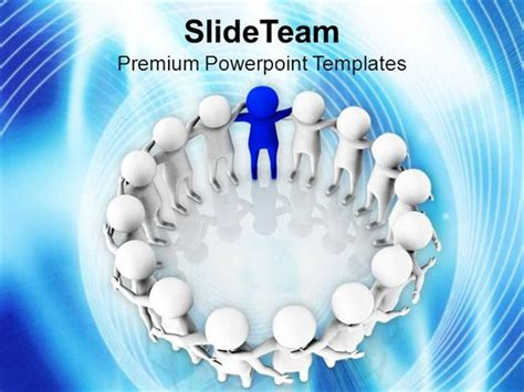 effective powerpoint templates effective team leader business thinking powerpoint