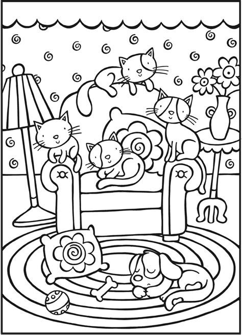 Doodle Dog Coloring Book