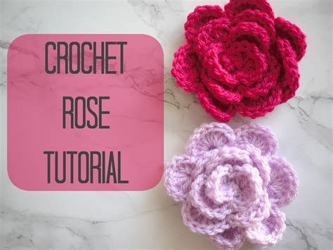Youtube A Pattern Of Roses   crochet how to crochet a rose flower bella coco youtube