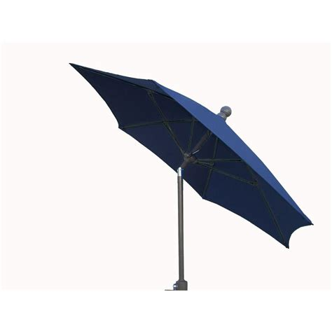 Fiberbuilt Umbrellas 9 ft. Patio Umbrella in Navy Blue