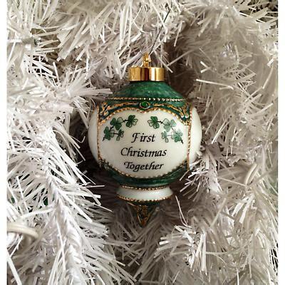 irish christmas ornament  christmas   shamrocks ornament  irishshopcom
