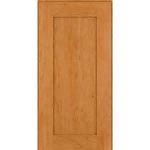 In Stock Kitchen Cabinets Kraftmaid Square Recessed Solid Cherry Natural Cabinets