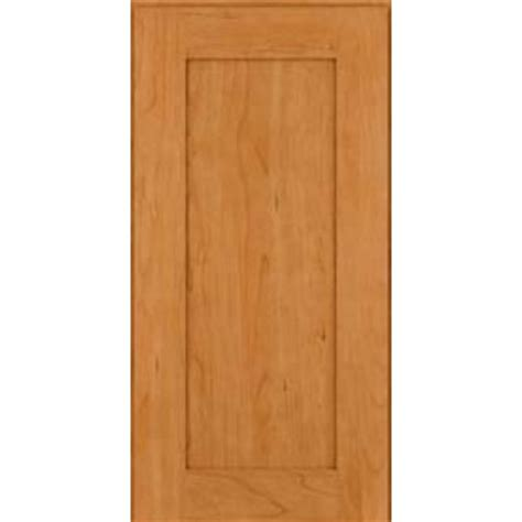 Kraftmaid Square Recessed Solid Cherry Natural Cabinets