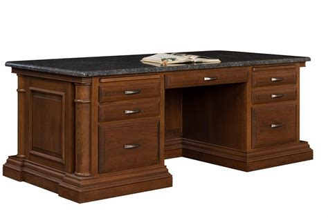 Amish Executive Desk by Executive Desk From Dutchcrafters Amish Furniture