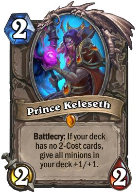 prince keleseth hearthstone wiki