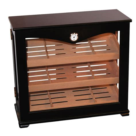 cigar humidor display cabinet deluxe upright wooden humidor display cabinet 150 cigars