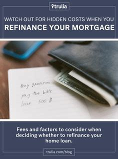 1000 ideas about refinance mortgage on