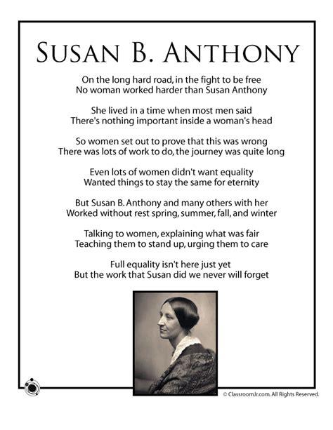 poet biography lesson plan susan b anthony kids poem woo jr kids activities
