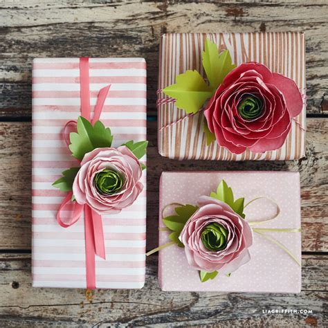 How To Make Paper Ranunculus - paper ranunculus flowers lia griffith