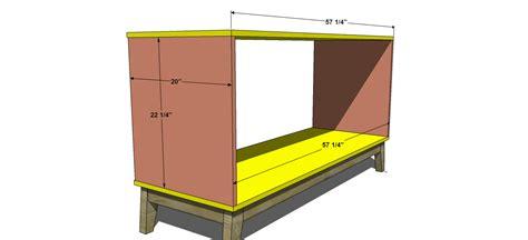 diy 6 drawer dresser plans free diy furniture plans how to build a steppe 6 drawer