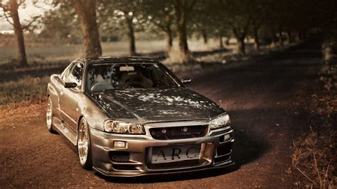 tuned r34 nissan skyline r34 wallpapers wallpaper cave