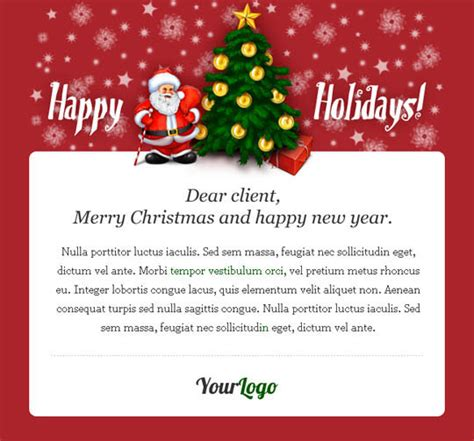 beautifully designed christmas email templates  marketing  products designbeep