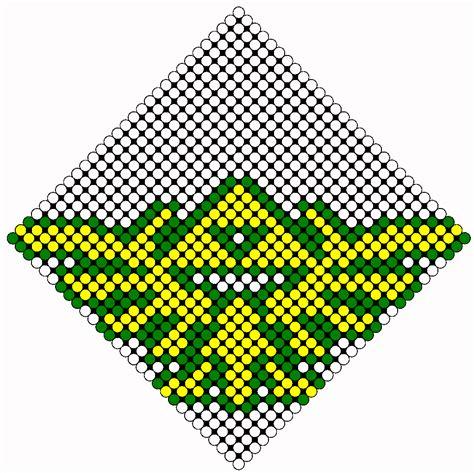zelda bead pattern zelda tri force 2 perler bead pattern bead sprites