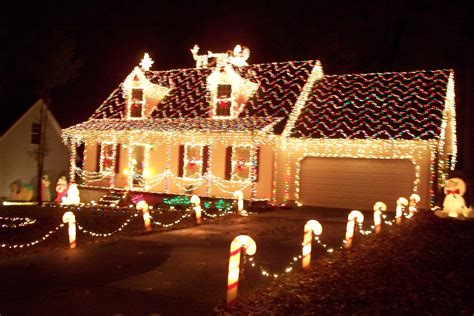 best decorated homes beautiful christmas lights on houses wallpaper