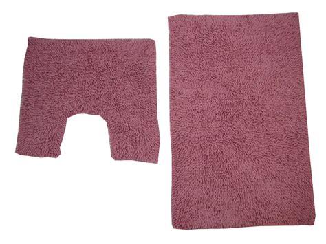 yellow pedestal mat bath mat pedestal rug set cotton tumble twist pink ebay
