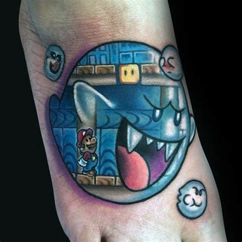 mario ghost tattoo 40 mario ghost ideas for boos designs